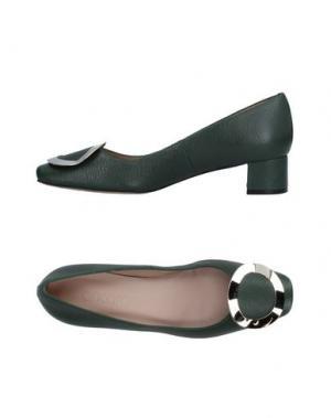 Туфли ANCARANI. Цвет: зеленый-милитари