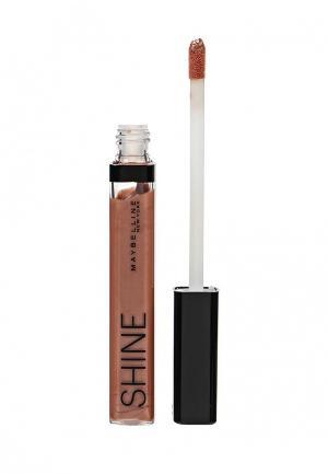 Блеск для губ Maybelline New York. Цвет: коричневый