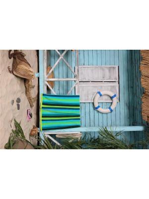 Полотенце пляжное Сroquet 90*170 цв. зеленый TOALLA. Цвет: зеленый
