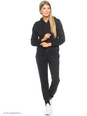 Толстовка Ess Hoodie Adidas. Цвет: черный