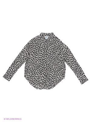 Блузка VANS. Цвет: черный, белый