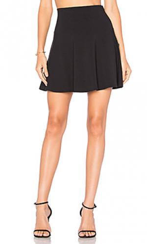 High waist flare 16 skirt Susana Monaco. Цвет: черный