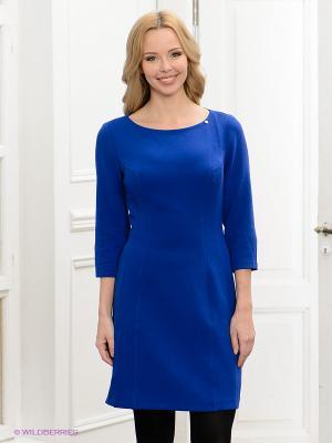Платье BOVONA. Цвет: синий