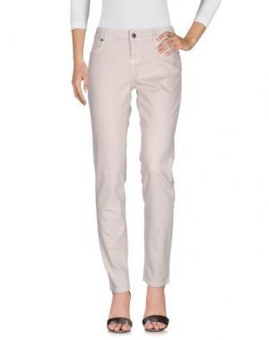 Джинсовые брюки I BLUES CLUB. Цвет: светло-серый
