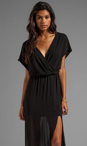 Вечернее платье maid plaza Rory Beca. Цвет: черный