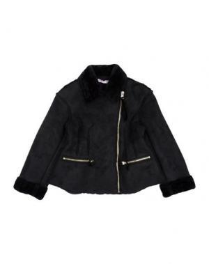 Пальто MIMISOL. Цвет: черный