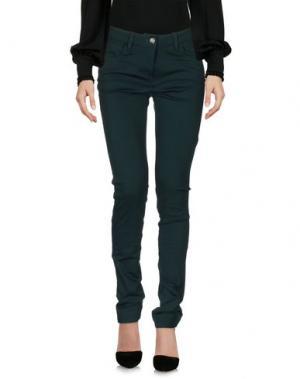 Повседневные брюки LIVIANA CONTI. Цвет: темно-зеленый
