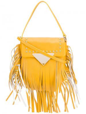 Сумка через плечо Cutie Sara Battaglia. Цвет: жёлтый и оранжевый
