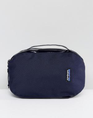 Patagonia Сине-красная сумка. Цвет: темно-синий