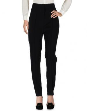 Повседневные брюки ALEXANDRE VAUTHIER. Цвет: черный