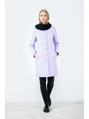 Пальто Elema. Цвет: лиловый