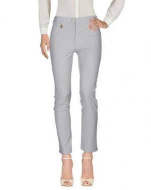 Повседневные брюки PAMELA HENSON. Цвет: светло-серый