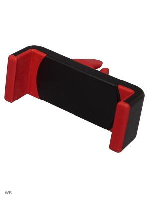 Держатель телефона/смартфона HT-23V-R WIIIX на вентиляцию. Цвет: черный, красный