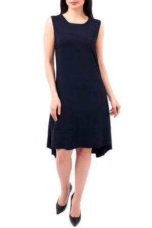 Платье EUROPEAN CULTURE. Цвет: темно-синий