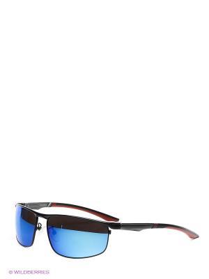 Солнцезащитные очки Selena. Цвет: синий, черный