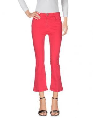 Джинсовые брюки VICOLO. Цвет: фуксия
