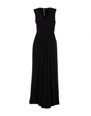 Длинное платье LAVINIATURRA. Цвет: черный