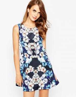 Finders Keepers Платье Easy. Цвет: мульти