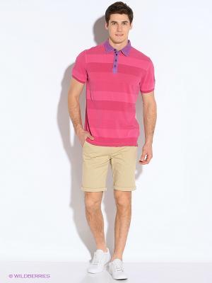 Футболка-поло S.OLIVER. Цвет: розовый