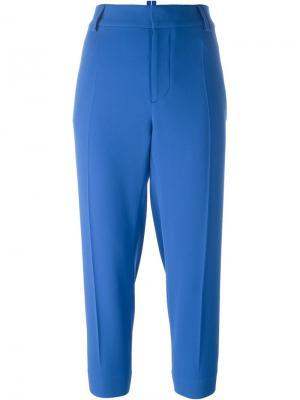 Укороченные брюки Dsquared2. Цвет: синий