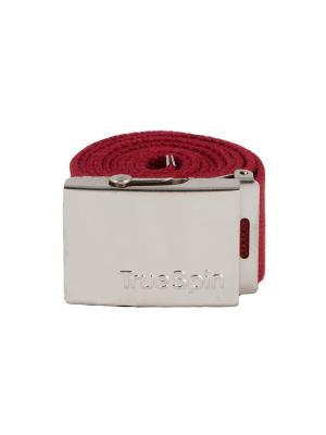 Ремень TRUESPIN Belt SS17 True Spin. Цвет: красный