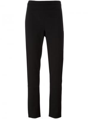 Двухслойные брюки кроя слим Chalayan. Цвет: чёрный