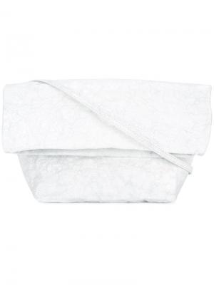 Flap shoulder bag Zilla. Цвет: белый
