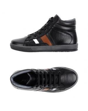 Высокие кеды и кроссовки JARRETT. Цвет: черный