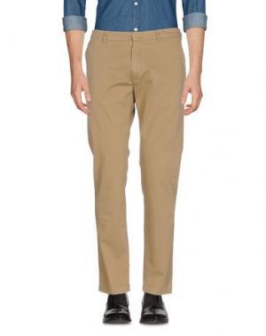 Повседневные брюки MAISON CLOCHARD. Цвет: зеленый-милитари