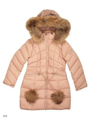 Пальто SNOWIMAGE. Цвет: кремовый