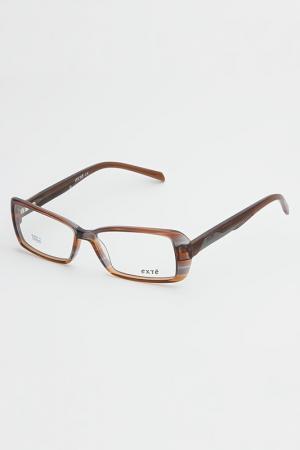 Очки корригирующие Exte. Цвет: коричневый