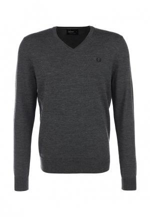 Пуловер Fred Perry. Цвет: серый