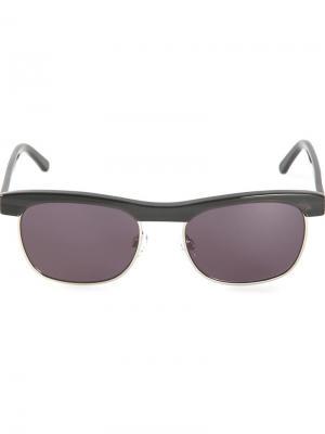 Солнцезащитные очки Chandler X Selima Optique. Цвет: чёрный