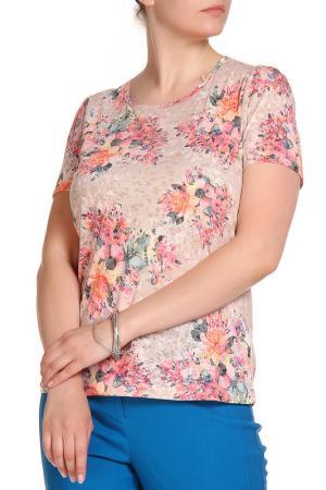 Блуза LOLA PALTINGER. Цвет: коричневый