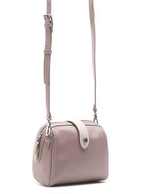 Сумка Palio. Цвет: сиреневый, бледно-розовый, кремовый