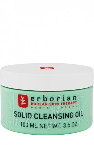 Очищающее масло 7 трав Erborian. Цвет: бесцветный