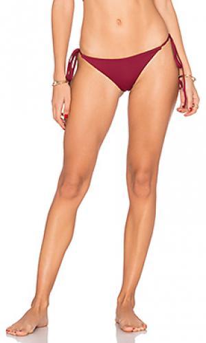 Низ бикини marley Frankies Bikinis. Цвет: вишня