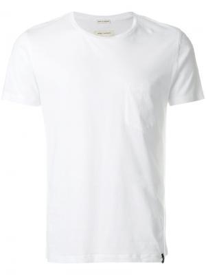 Классическая футболка Marc Jacobs. Цвет: белый