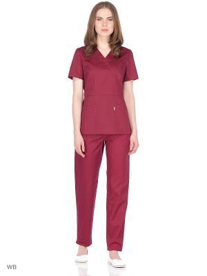 Блузка медицинская Med Fashion Lab. Цвет: лиловый