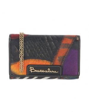 Бумажник BRACCIALINI. Цвет: оранжевый