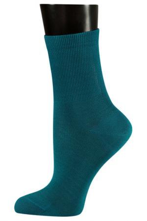 Носки TELLER. Цвет: изумрудный