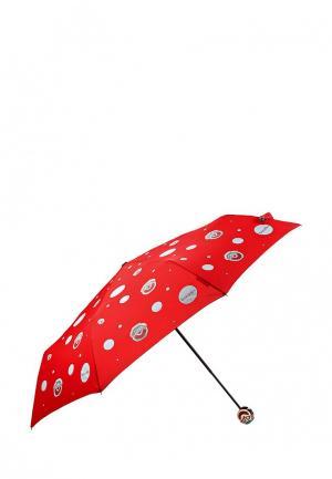 Зонт складной Braccialini. Цвет: красный