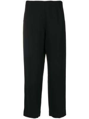 Укороченные брюки Eda Vanessa Seward. Цвет: чёрный