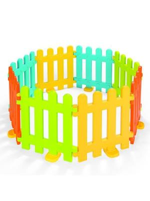 Ограждения для домика DOLU. Цвет: салатовый, желтый, светло-голубой