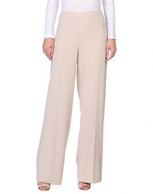 Повседневные брюки HOPE COLLECTION. Цвет: бежевый