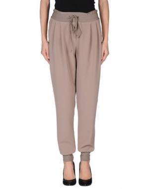 Повседневные брюки TO-MAY. Цвет: хаки