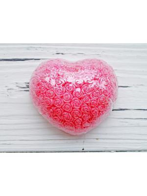 Сувенирное мыло - Сердце в розах Entourage. Цвет: красный