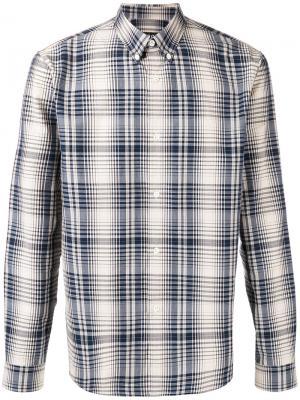 Plaid shirt A.P.C.. Цвет: синий