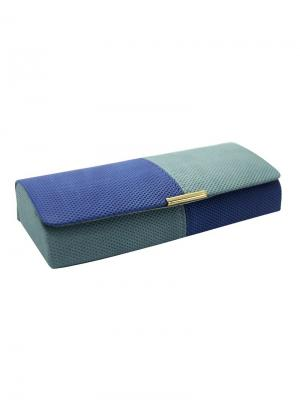 Футляр для очков 10257-С04 Germes. Цвет: синий, серо-голубой