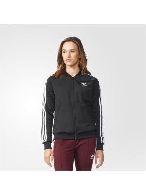 Толстовка SST TT BLACK Adidas. Цвет: черный